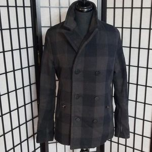 G-Star Double Breasted Wool Blend Coat